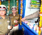 Commissioner of Delhi Police  BS Bassi inaugurates mother dairy outlet in PHQ parking on today