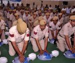 CPR training camp for Delhi Police Control Room (PCR) van staff