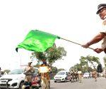 Delhi Police flags off Prakram Vans