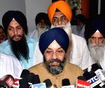 Manjit Singh GK meeting Akal Takht leaders