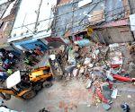Demolition of illegal structures underway