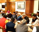Delegation of farmers from Rajasthan meet Gajendra Singh Shekhawat