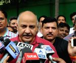 Sisodia, 51 AAP MLAs arrested, released