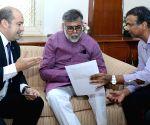 Deputy Head of Ministry Embassy of Paraguay meets Prahalad Singh Patel