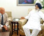 Henri Allard calls on Parkash Singh Badal