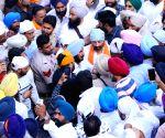 Dera Baba Nanak: Sunny Deol visits Gurdwara Darbar Sahib in Punjab