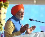 Dera Baba Nanak (Punjab): PM Modi at a programme in Dera Baba Nanak