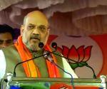 Amit Shah slams Congress for 'politicising' Pulwama