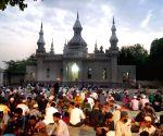 Ramadan - Devotees break their fast