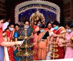 Maha Ashtami puja at Bengali Akhara