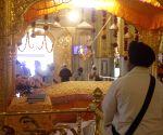 Devotees in Punjab, Haryana throng gurdwaras to mark Baisakhi