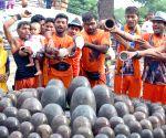 Shiva devotees