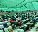Devotees offer prayers on last Friday of Ramadan
