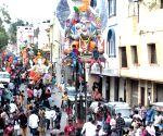 Ganesha idols immersion