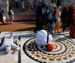 Vaisakhi - Devotees pay obeisance at Golden Temple