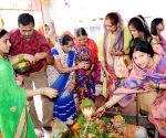 Sawan Shivratri' - Devotees at a temple