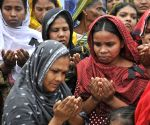 A commemoration for Rana Plaza building collapse in Savar