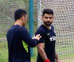 Dhaka (Bangladesh): Practice session - India