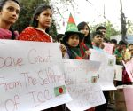 Bangladeshi cricket fans protest