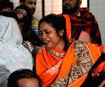 BANGLADESH DHAKA FACTORY FIRE VICTIMS