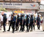 Bangladeshi businessmen stage white flag rallies