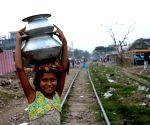 Massive Dhaka slum fire displaces 50,000