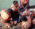 BANGLADESH DHAKA FERRY ACCIDENT