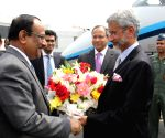 Dhaka (Bangladesh): Jaishankar arrives in Dhaka
