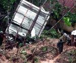 BANGLADESH HEAVY RAINS LANDSLIDE