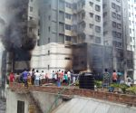 BANGLADESH DHAKA BUILDING FIRE