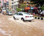 BANGLADESH DHAKA CYCLONE ROANU HEAVY RAIN