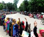 BANGLADESH DHAKA UNEMPLOYED NURSES PROTEST