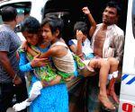 BANGLADESH DHAKA GAS CYLINDER EXPLOSION