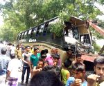 BANGLADESH DHAKA ROAD ACCIDENT