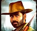Dhanush's first look poster features him in cowboy avatar
