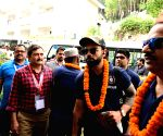 Kohli's team reaches Dharamsala, set for clash with Proteas