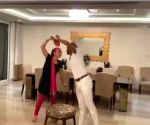 Shikhar Dhawan turns into Jitendra, dances to Bollywood classic