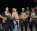 Dhuluiya  (Baghdad): Iraqi soldiers prepare to fight against Islamic State