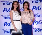 Dia and Prachi at P & G Mom's day event