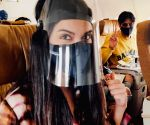 Free Photo: Diana Penty posts pics of flying in the time of Covid