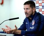 Atletico's Simeone positive despite Spanish Cup elimination