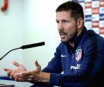 Atletico's Simeone positive despite Spanish Cup elimination