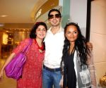 "Dino Morea at ""Versace"" store launch."