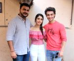 "Promotion of film ""Loveratri"" - Abhiraj Minawala, Warina Hussain and Aayush Sharma"