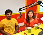 "Promotion of film ""Raja the Great"" - Anil Ravipudi and Mehrene Kaur Pirzada"