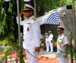 PMSA DG arrives at Indian Coast Guard Headquarters
