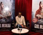 "H.E. Amjad Khan during ""Gul Makai"" promotions"
