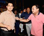 "Humayun Kabir at the premiere of his film ""Aaleya"