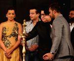 "Page3 Fashion & Lifestyle Awards"" - Sajid Khan and Mugdha Godse"