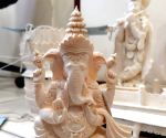 Free Photo:  DRI seizes Rs 1.03 cr of elephant tusk, ivory, father-daughter duo arrested
